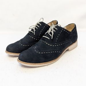 Cole Haan Gramercy Wingtip Oxford Suede Shoes